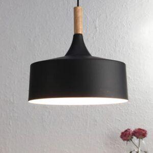 Black Metal Single Hanging Light