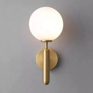 Pendulum Gold Metal Wall Light