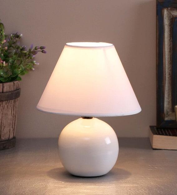 Chalk White Table Lamp