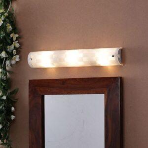 White Glass Bath Light